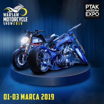 ZAPRASZAMY NA WARSAW MOTORCYCLE SHOW 1-3 MARCA 2019